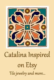 Crochet Headbands, Catalina Tile Jewelry and More at Catalina Inspired on Etsy
